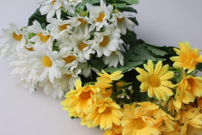 ромашка желто/белая 1шт. xd013 цвета в ассортименте