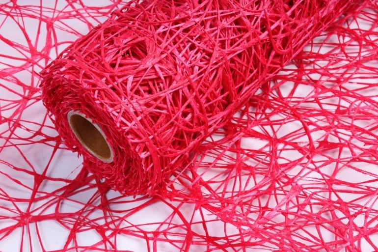 Сетка Сизаль Искусственная 54см * 5м красный UM-06 (Н)