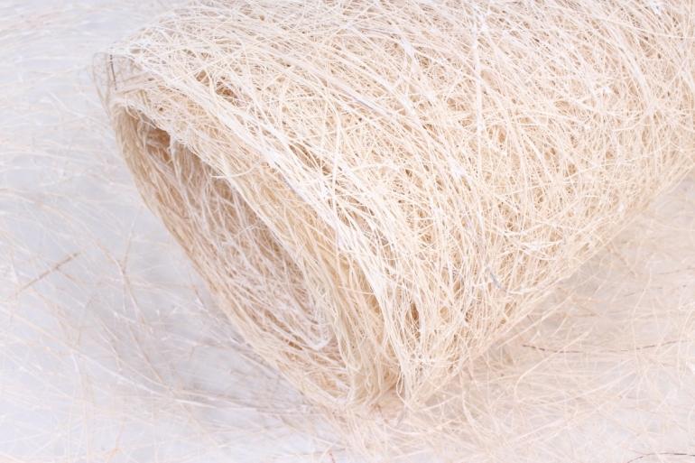 Сизалевое полотно  Ф  (50см*9м) Белое  Арт142837062