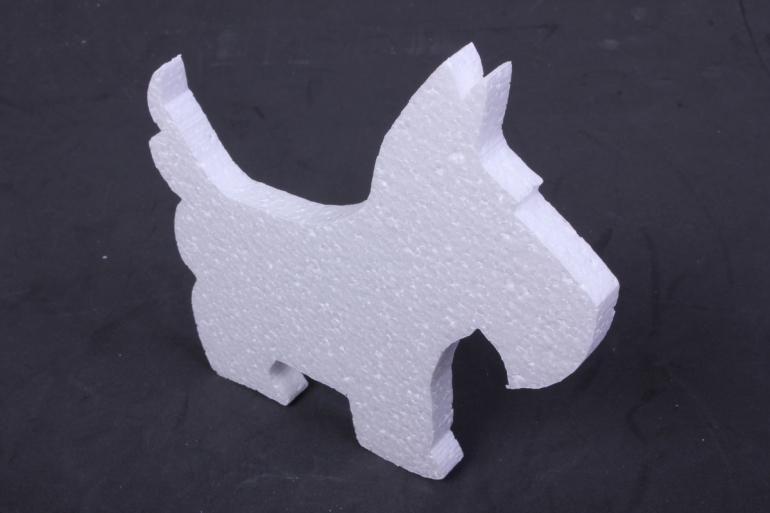 собака пенопласт вид 2,  арт. 04-ж