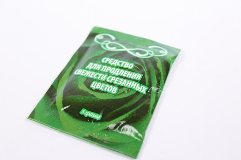 средство для продления свежести срезанных цветов (в пакете 5гр) на 0,5л (талифлор)