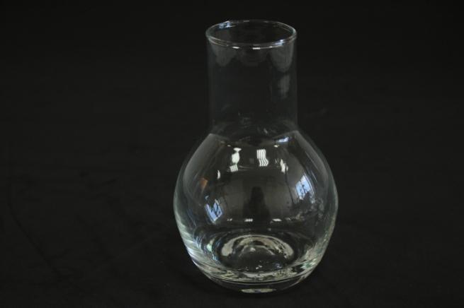"""стеклянная""""кенди""""вазочкамалая-колба d=4/8 h=12см"""
