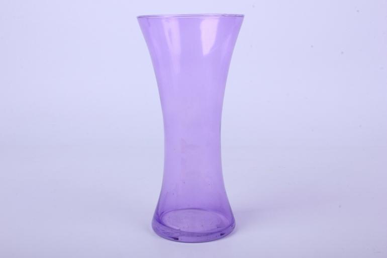 """стеклянная  """"весна"""" ваза 182 большая цветная сирень миксмикс-2588"""