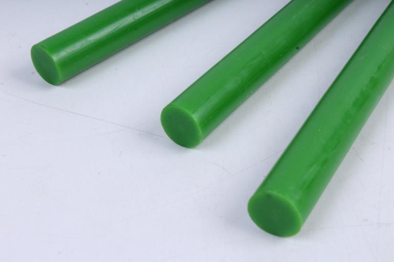 стержень клеевой для термопистолета (d=11,2мм l=20cм) - зелёный - поштучно