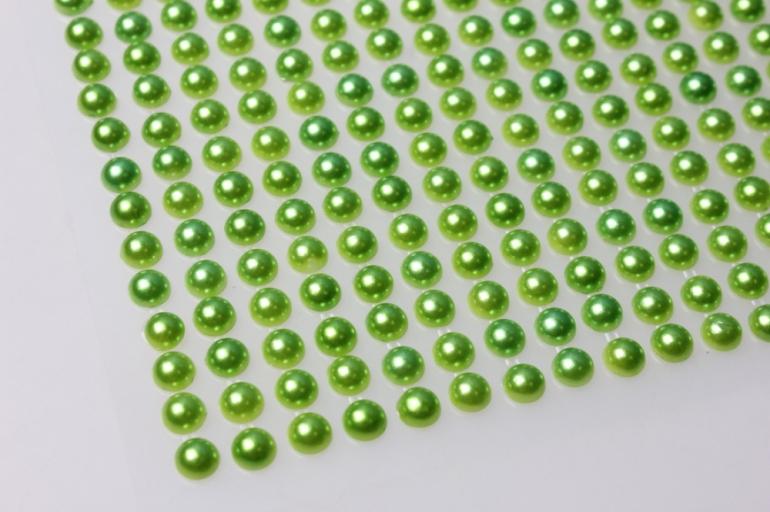 стразы оливковые жемчуг 6мм 504 шт 384 7701