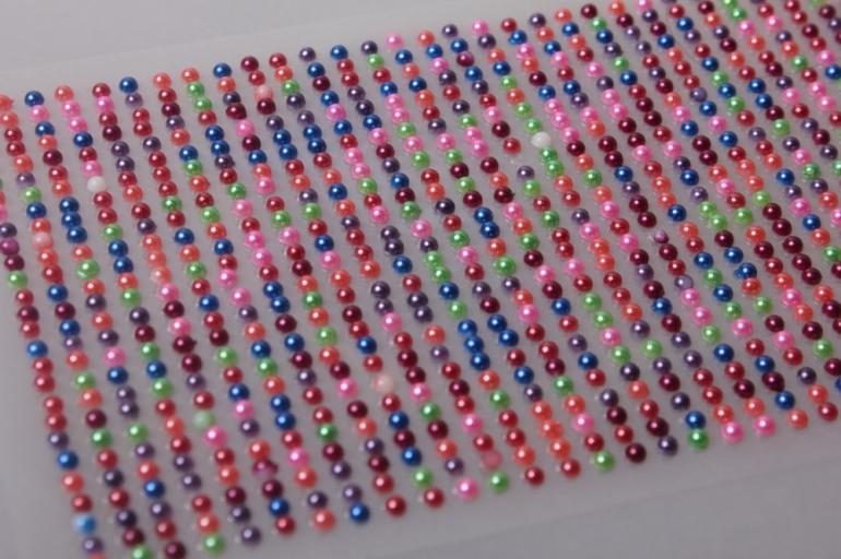 стразы разного цвета на липучке 3мм 1404шт dz349 7350