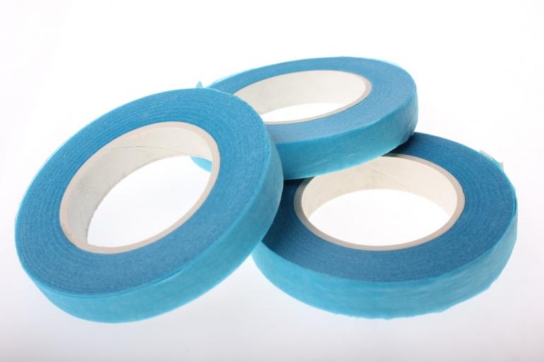аксессуары для флористов - тейп-лента в асс.13 мм тейп-лента в асс.13 мм - голубой 925