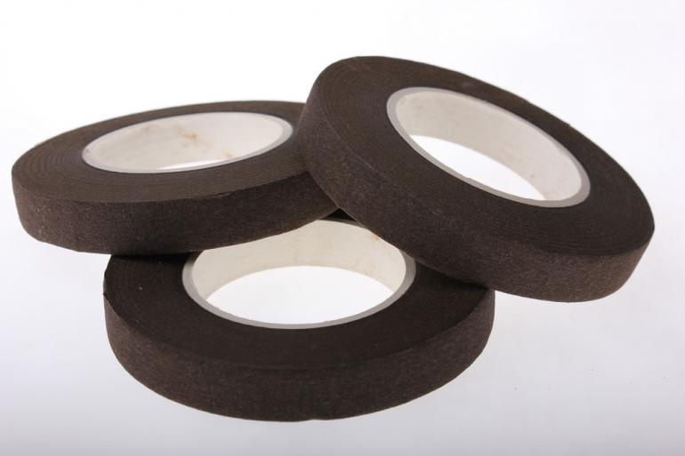 аксессуары для флористов - тейп-лента в асс.13 мм тейп-лента в асс.13 мм - шоколадный 925