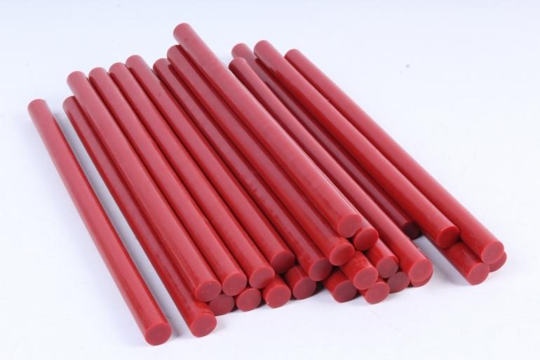 ТермоКлей цветной  (11,2*200 мм) -8194 красные 500г