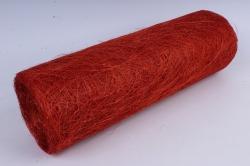 сизалевое полотно  алый   50смх9м  (м) нн21316а