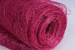 сизалевое полотно  розовый   50смх9м  (м) нн21316р