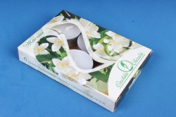 001823 Свеча чайная 12 гр ароматизир. 6шт/уп жасмин