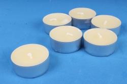 001802 Свеча чайная 12 гр ароматизир. 6шт/уп  персик