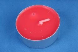 001830 Свеча чайная 12 гр ароматизир. 6шт/уп  тропические фрукты