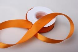 0068 лента атласная 25мм 23м  апельсиновая - китай