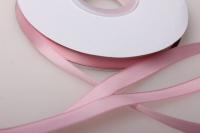 012 лента атласная 9мм 45м нежно-розовая - китай