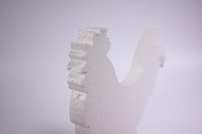 02-Пт Петух из пенопласта (ассорт) h=16см
