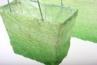 корзины из сизаля 051447 корзины плетеные сумки сизаль набор (2шт) 16х20см - салатовый 2475