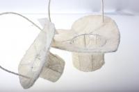 корзины из сизаля 090513 корзины плетеные сердце сизаль набор (2шт) 20х20см - белый 2474