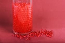 """Гидрогель """"Волшебные жемчужены"""" красный (d=1.5-2.5мм) GH-41158"""