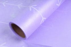 """Упаковочный материал Ламинированный фетр """"Кустик"""", 60 см х 5 м Сиреневый"""