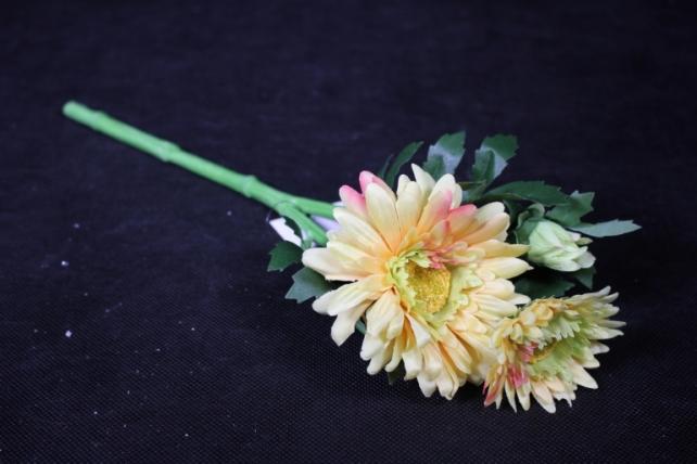 Искусственное растение - Хризантема Жёлтая 35 см SUN530