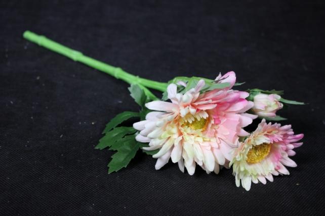 Искусственное растение - Хризантема Шампань/розовая 35 см SUN530