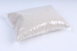 Песок кварцевый 1 кг, белый  6062