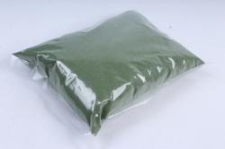 Песок кварцевый 1 кг, зеленый  6018