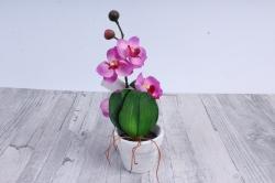 Цветочная композиция (И) -Орхидея в кашпо DH-23805   7019
