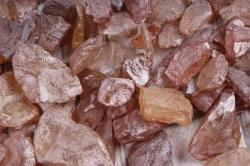 Камушки стеклянные в тубе (500гр) (1-2см) коричневый KR-46963  6017