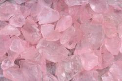 Камушки стеклянные в тубе (500гр) (1-2см) розовый KR-46968  1011