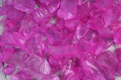 Камушки стеклянные в тубе (500гр) (1-2см) темно-розовый KR-46967  0014