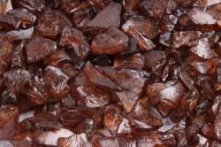 Камушки стеклянные в тубе (500гр) (5-8мм) коричневый KR-46956  9019
