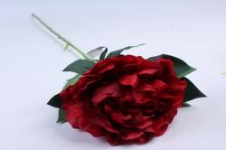 Искусственное растение - Цветок Пиона  Красный   SUN406-1674, LIU310