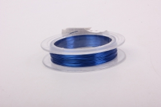 Проволока  Синяя флористическая  (п-10-001)