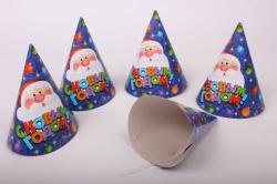 Колпак  С Новым годом Елочные игрушки (6шт в уп)  Е2132