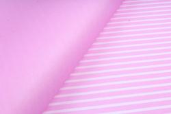 """Набор бумаги плотной, 10 листов 50*70см """"Полоска"""" розовый  1351"""
