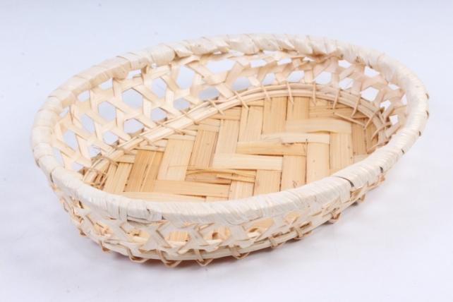 Плошка плетеная (бамбук) - Овал