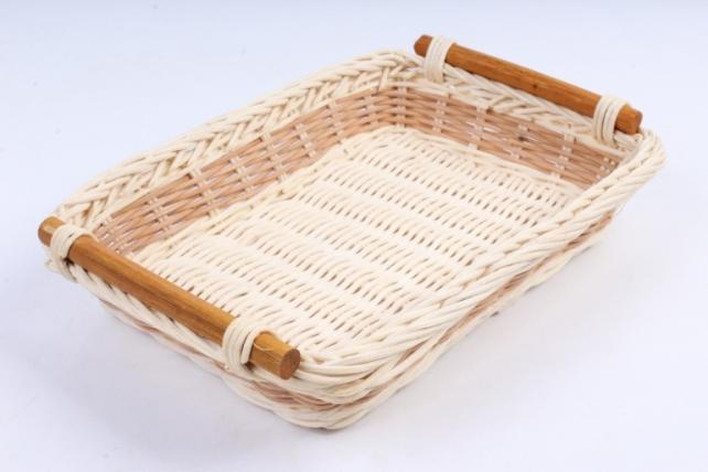Плошка плетеная (бамбук) - Прямоугольник