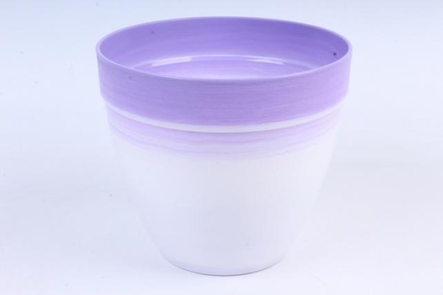 Кашпо (А) (пластик), 3,7л, сиреневый  4948