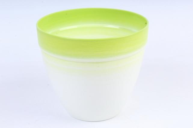 Кашпо (А) (пластик), 3,7л,  зеленый  4900