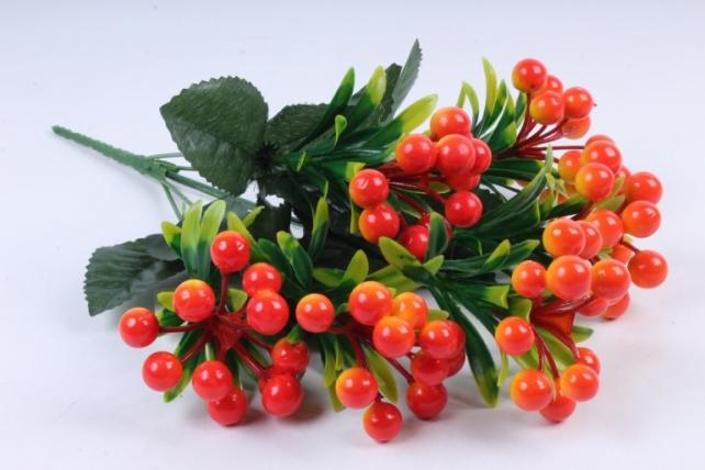 Искусственное растение -  Калина оранжевая  Б10280