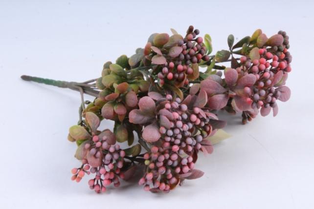 Искусственное растение -  Спирея шанхайская брусничная Б9895