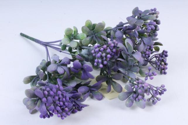 Искусственное растение -  Спирея шанхайская сиреневая Б9895
