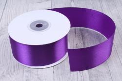 Лента атласная гладкая, односторонняя, 38мм х 25м (фиолетовый 1108)  9015, К
