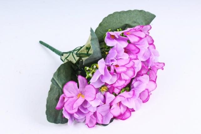 Искусственное растение - Фиалки Букет сиреневые