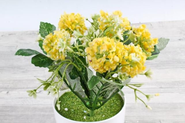 Искусственное растение -  Астранция жёлтая