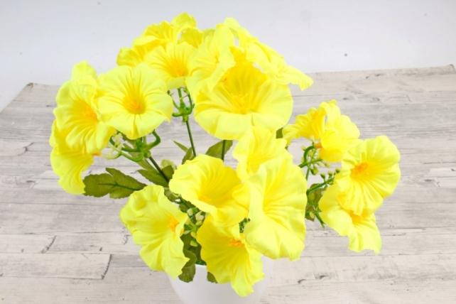 Искусственное растение -  Лаватера жёлтая
