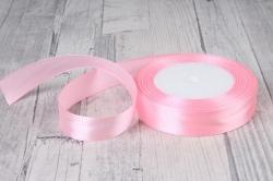 Лента атласная 2см*25ярд  розовый пастель (Н) К